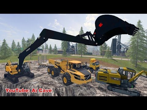 Volvo A40G white by TFSG