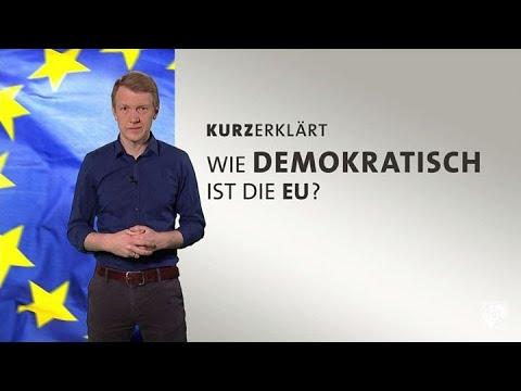 Wie demokratisch ist die EU?