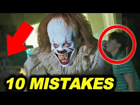 "10 BIGGEST MISTAKES in ""IT"" ( 2017 ) - 99% couldn't find the mistake"