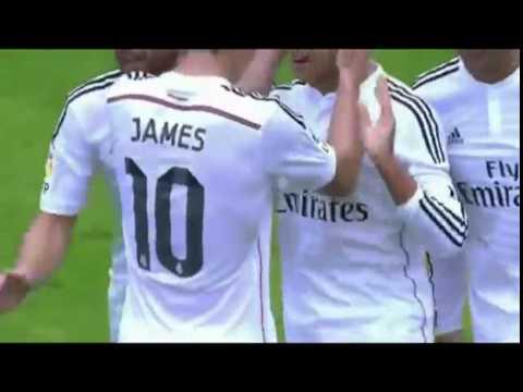 Los primeros goles del chicharito con el Real Madrid!!