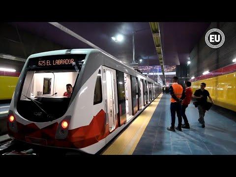 Inició etapa de prueba del Metro de Quito (VIDEO)