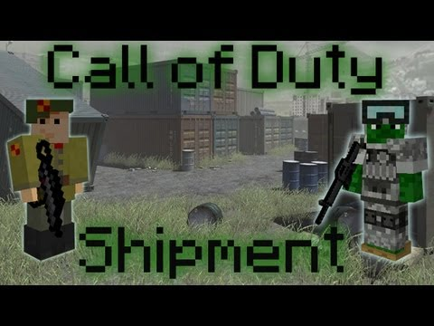 Minecraft Call of Duty - Shipment PVP Map