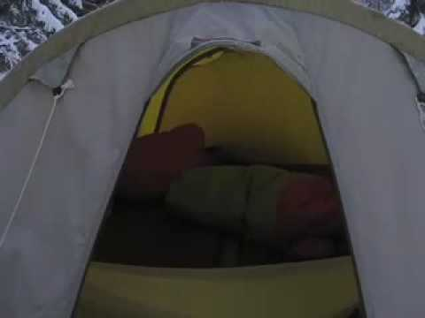Winter Camping Tips - The Tent