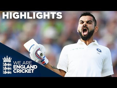 Virat Kohli Scores 1st Test Century In England | England V India 1st Test Day 2 2018 - Highlights