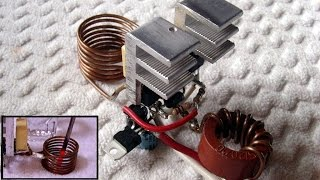 Induction Heater Circuit ~ FULL explanation & schematic