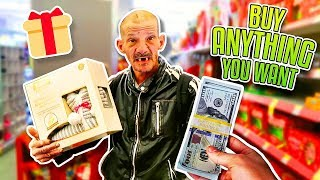 I Bought this Homeless Man Anything He Wanted for 24 Hours