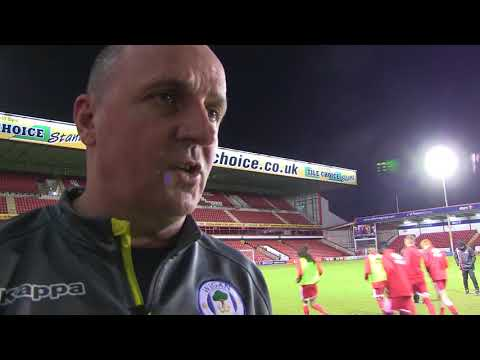 PAUL COOK on Latics' three goals, three points and confident display at Walsall (видео)