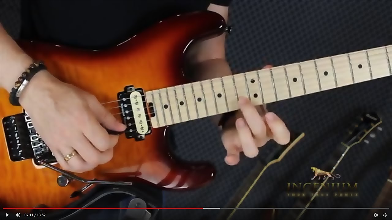Best way to sequence 4 note arpeggios – Guitar mastery lesson