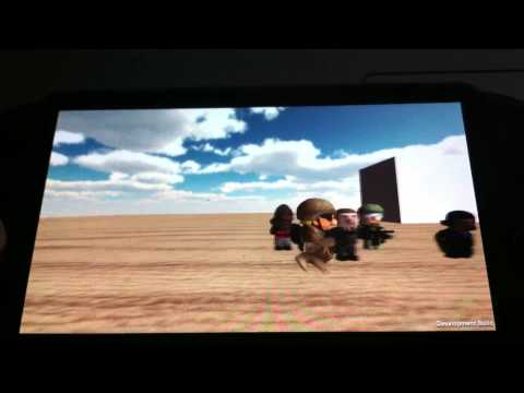 PSM for Unity | Playstation Mobile | 12 Inch Soldier alpha on the PS Vita