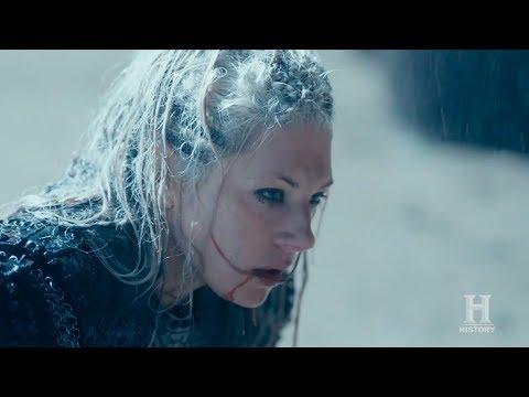 "Vikings 6x06 ""Hvitserk Kills Lagertha"" Ending Scene Season 6 Episode 6 HD ""Death and the Serpent"""