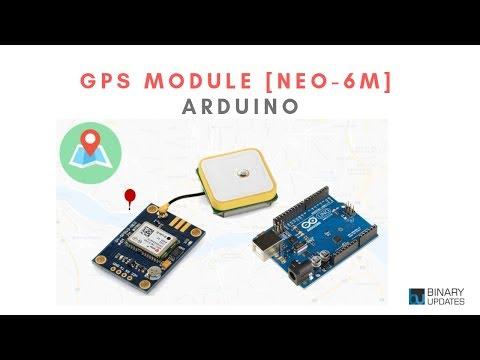 GPS Module with Arduino- Ublox NEO-6M