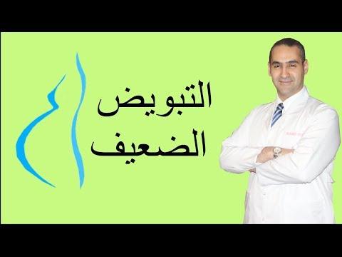 التبويض الضعيف, اسبابه و علاجه - دكتور احمد حسين