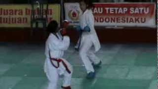 Jombang Indonesia  City new picture : Indonesian Karate - Best Of The Best Karate Kumite - Jombang