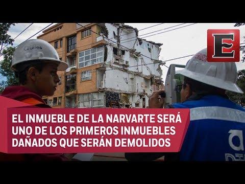 Sismo del 19 acaba con sueños de los residente de edificio de Concepción Beistegui (видео)