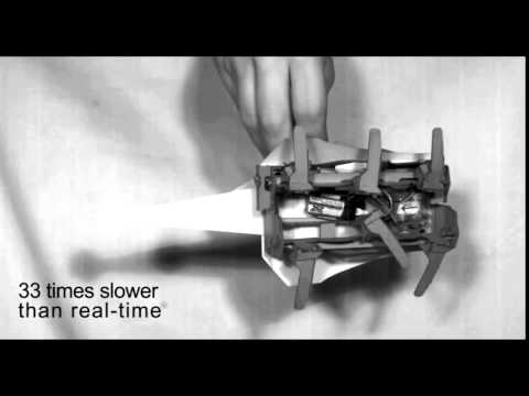 Robot actuation in slow-motion