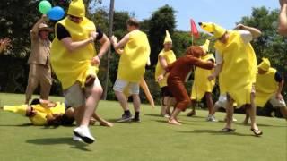 Harlem Shake Ladyboy Monkey Banana Golf Thailand Stag