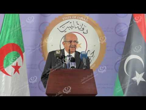 """""""السراج"""" يجتمع مع وزير الشؤون المغاربية الجزائري في طرابلس"""