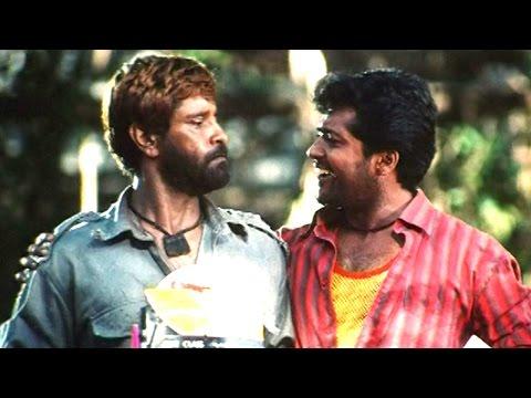Siva Putrudu Movie || Comedy Scene Between Vikram, Surya, Simran || Vikram, Surya, Laila