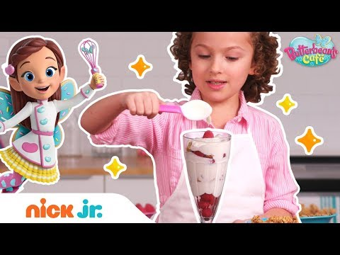 Healthy Snacks! How To Make Recipes From Butterbean's Café 🍎 | Nick Jr.