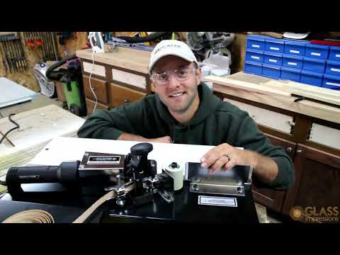 Edge Banding Machine Demo by Glass Impressions