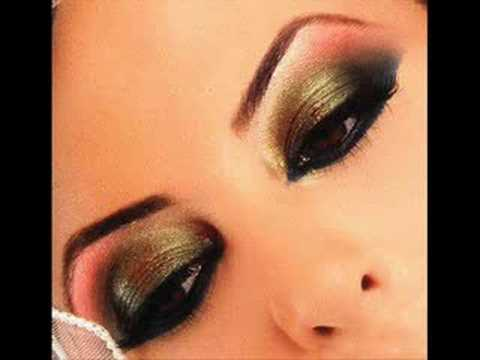 Colorful Arabic Makeup