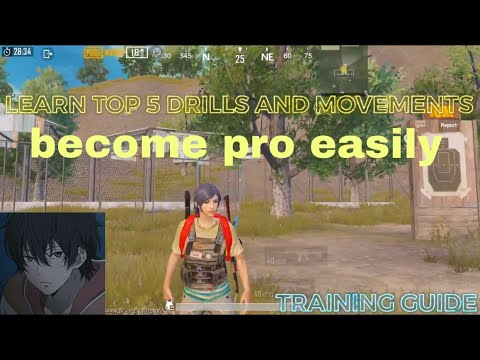 TOP 5 DRILLS AND MOVEMENT OF PRO PLAYER | PLAYER FASTEST VIETNAM | PUBG MOBILE