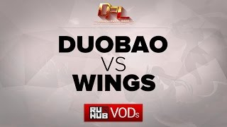 Wings vs DUOBAO, game 1