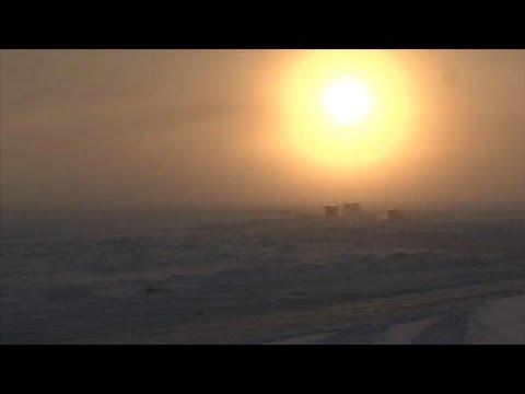 Bitterkalt: -62 Grad in Sacha (Jakutien)
