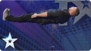 Check out the sharp moves and a spiky illusion from our latest magic maker. Watch the Judges reaction and plenty more BGT...