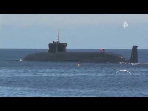 В Белом море подводный крейсер \
