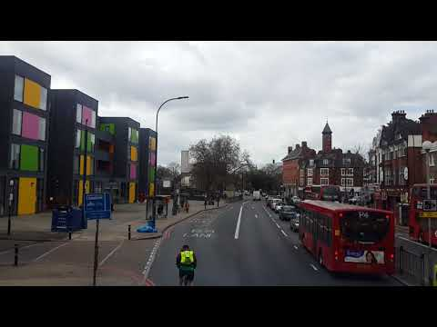 Lewisham to Catford Garage by 199 bus  16th April 2018