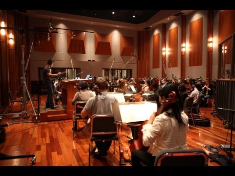 gsmaestro - Behind the scenes interview with George Shaw at the orchestral recording session with the Irvine Young Concert Artists. Music from Spoiler Alert http://georg...