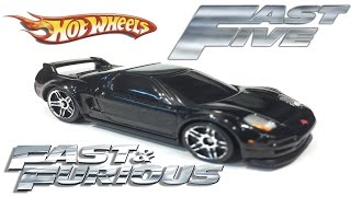 Nonton Fast & Furious Mia's Acura NSX - Hot Wheels Customs - Fast Five Film Subtitle Indonesia Streaming Movie Download