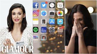 Video Nina Dobrev Hijacks a Stranger's Phone | Glamour MP3, 3GP, MP4, WEBM, AVI, FLV Mei 2019