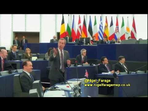 "Nigel Farage - ""Mr Samaras, you're not in charge of Greece"" (15th Jan 2014)"