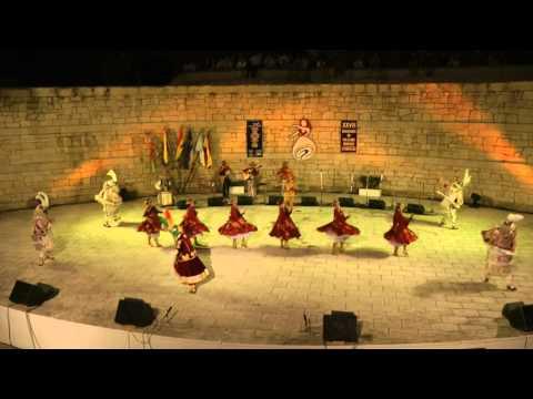 Andean folk dance: Morenada