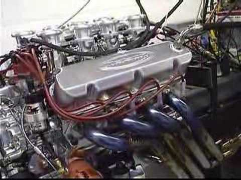 351 Ford Engine on the Dyno
