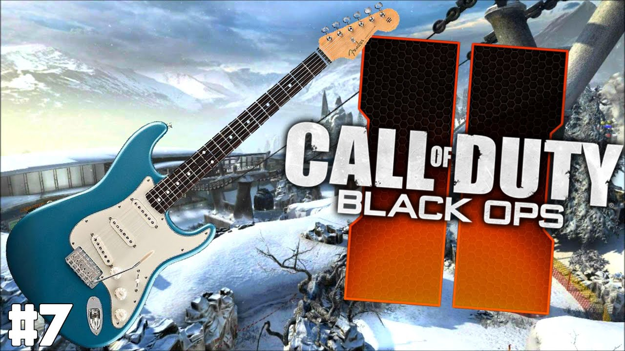Playing Guitar on Black Ops 2 Ep. 7 – Electric Guitar Edition!