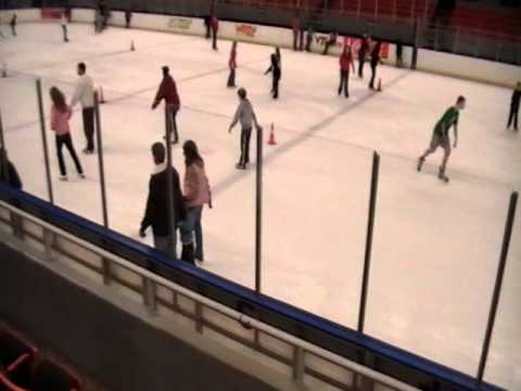 Ice Skating in Roanoke, Virginia November 26 2010