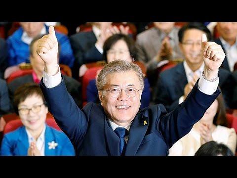 Ο Μουν Τζα-Ιν είναι ο νέος Πρόεδρος της Νότιας Κορέας