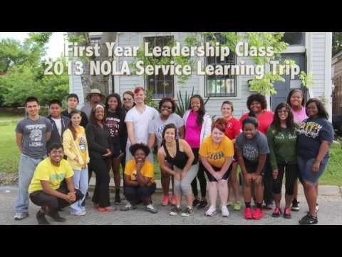 2013 FLC NOLA Service Learning Trip
