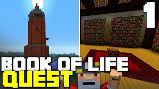 The Book of Life Quest! Custom Minecraft Quest (Part 1/3)