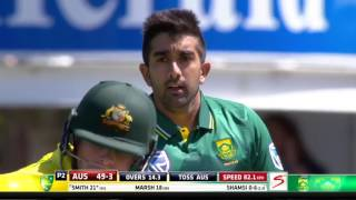 Shamshi India  City pictures : South Africa vs Australia - 4th ODI - Australia innings highlights