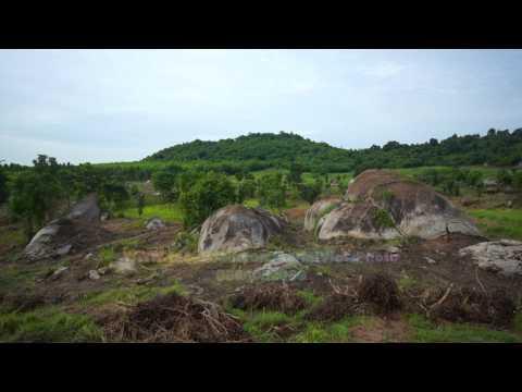 Kabin Buri District Drone Video