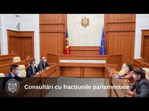 Вниманию СМИ: консультации с парламентскими фракциями и группами продолжатся в понедельник, 29 марта