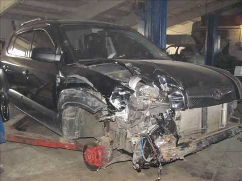 Hyundai tucson ремонт своими руками