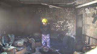 الدفاع المدني يسيطر على حريق منزل بطولكرم