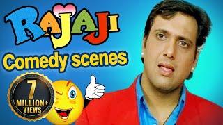 RAJAJI - Govinda, Raveena Tandon Comedy Scenes