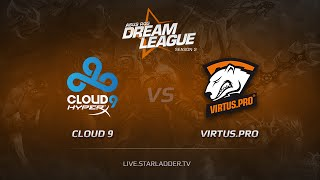 Virtus.Pro vs Cloud9, game 2