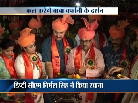 First batch of annual Amarnath Yatra pilgrims set to leave in Jammu